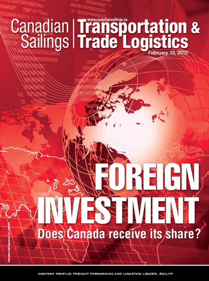 Canadian Sailings Issue, Feb 13 2012