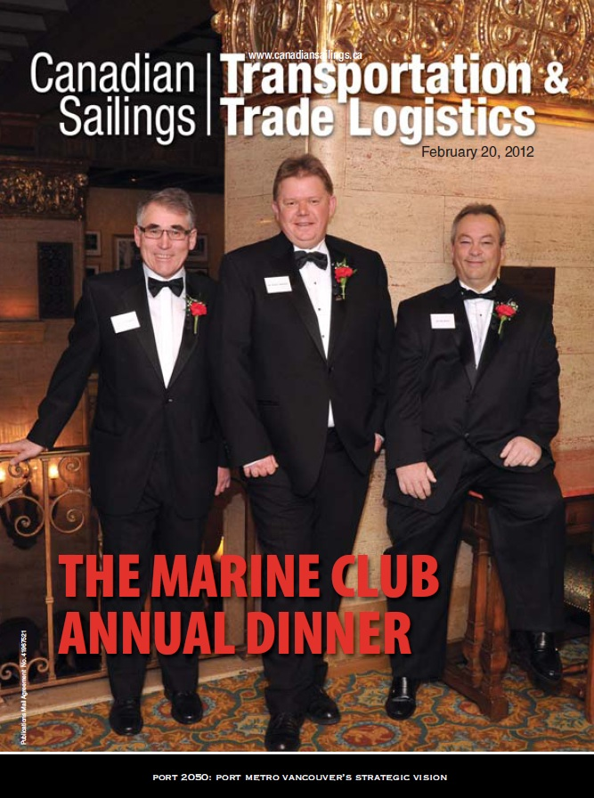 Canadian Sailings Issue, Feb 20 2012
