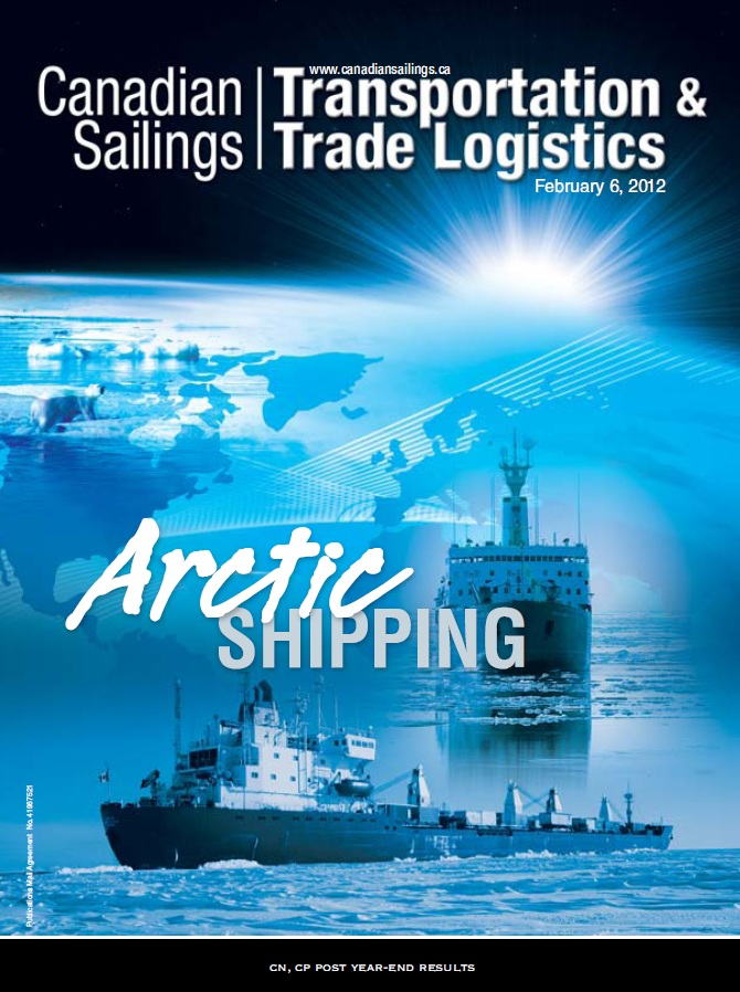 Canadian Sailings Issue, Feb 6 2012