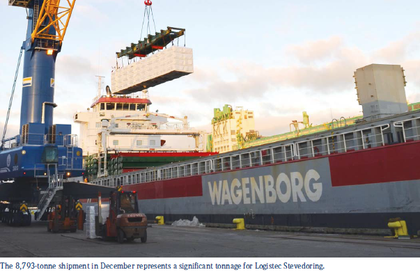 Wagenborg – The new Thunder Bay connection