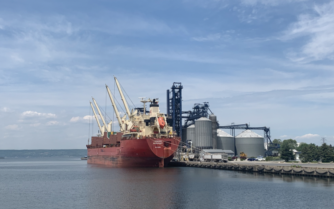 Strength in commodities causes Seaway to experience uptick in July