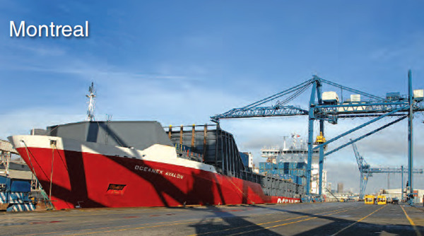 Montreal terminals preparing for continued growth