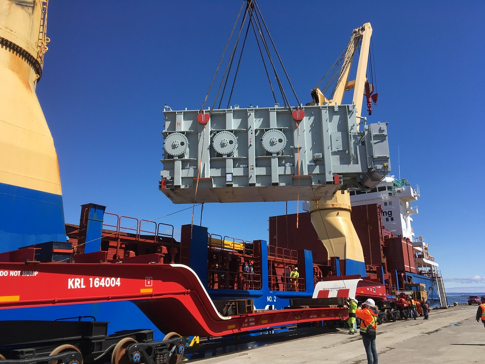 Thunder Bay's resurgence of steel and heavy-lift