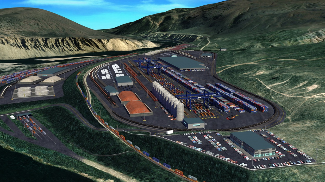 Ashcroft Terminal: one of five inland ports in Western Canada
