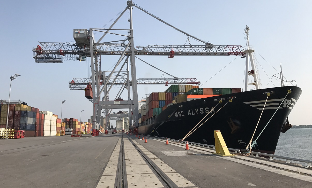 Port of Montreal expands global reach with new Viau container terminal