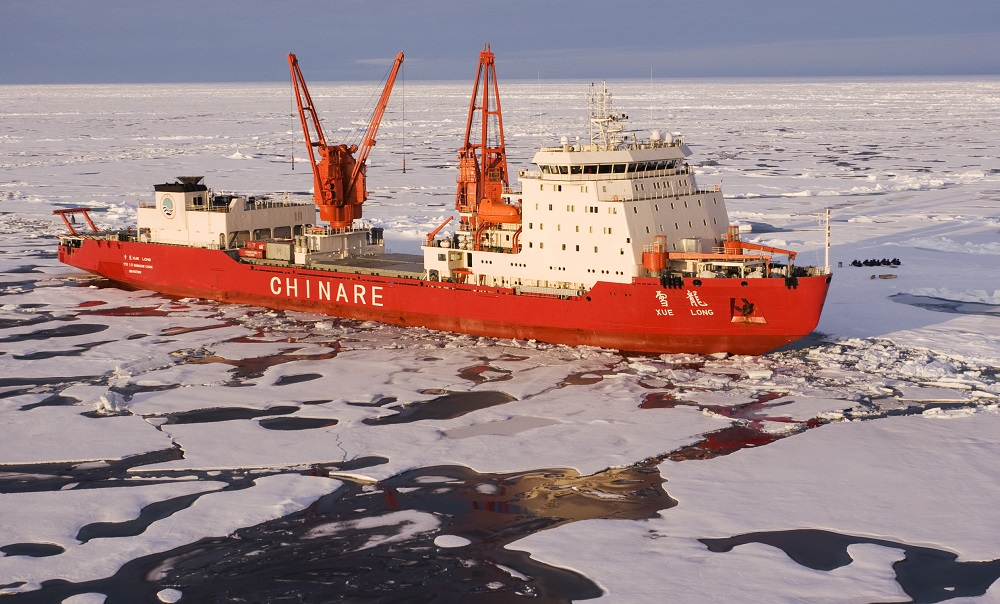 China's Arctic rising