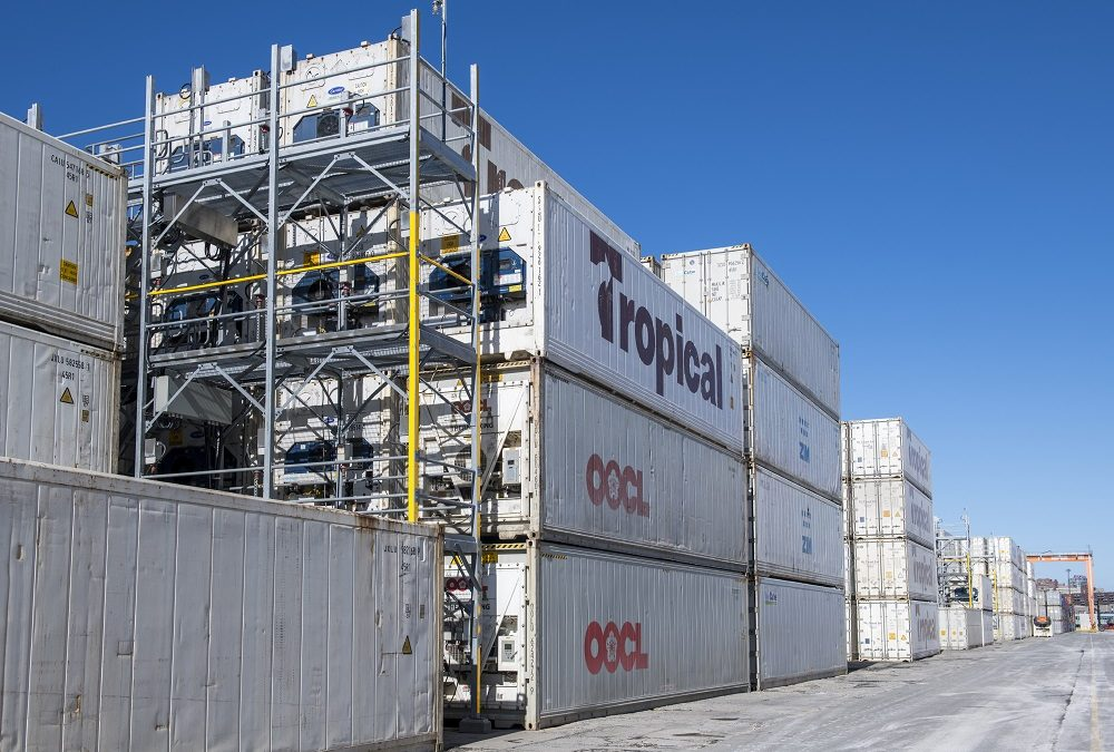Facilities expand to handle more refrigerated shipments