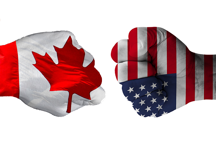"""Trump: """"Tariffs are the greatest""""; Canadians angered by U.S. President's trade negotiating moves"""