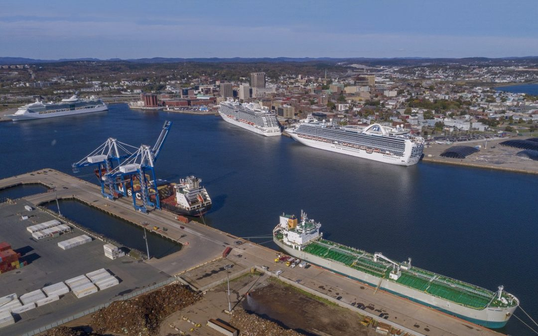Record revenue year in 2017 for Port Saint John