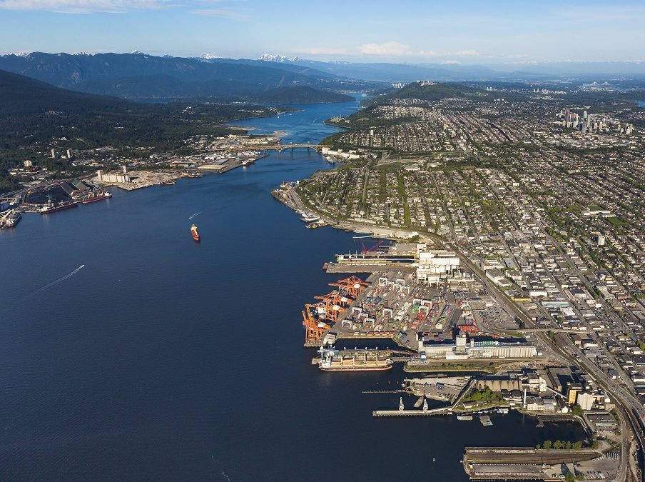 Port of Vancouver – Cargo diversity and strong Canadian economy drive record volumes at Port of Vancouver