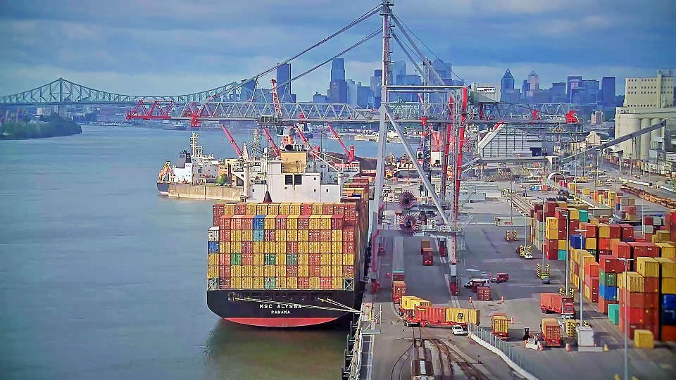 Port of Montreal's international container hub's competitive advantages allow carriers, shippers to move cargo quickly, efficiently