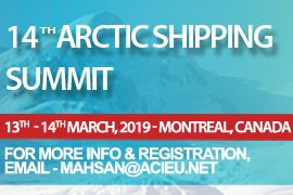 14th Annual Arctic Shipping Summit