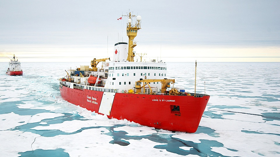 Does Canada have a strategic plan to enhance its fleet of icebreakers?