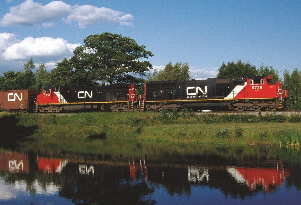 CN maximizing the use of rail into Port of Prince Rupert, and reports record grain shipments in April