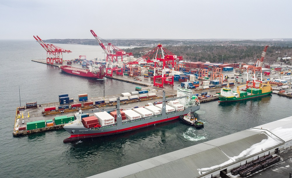 Brand new container ships enhance Halifax reefer trade