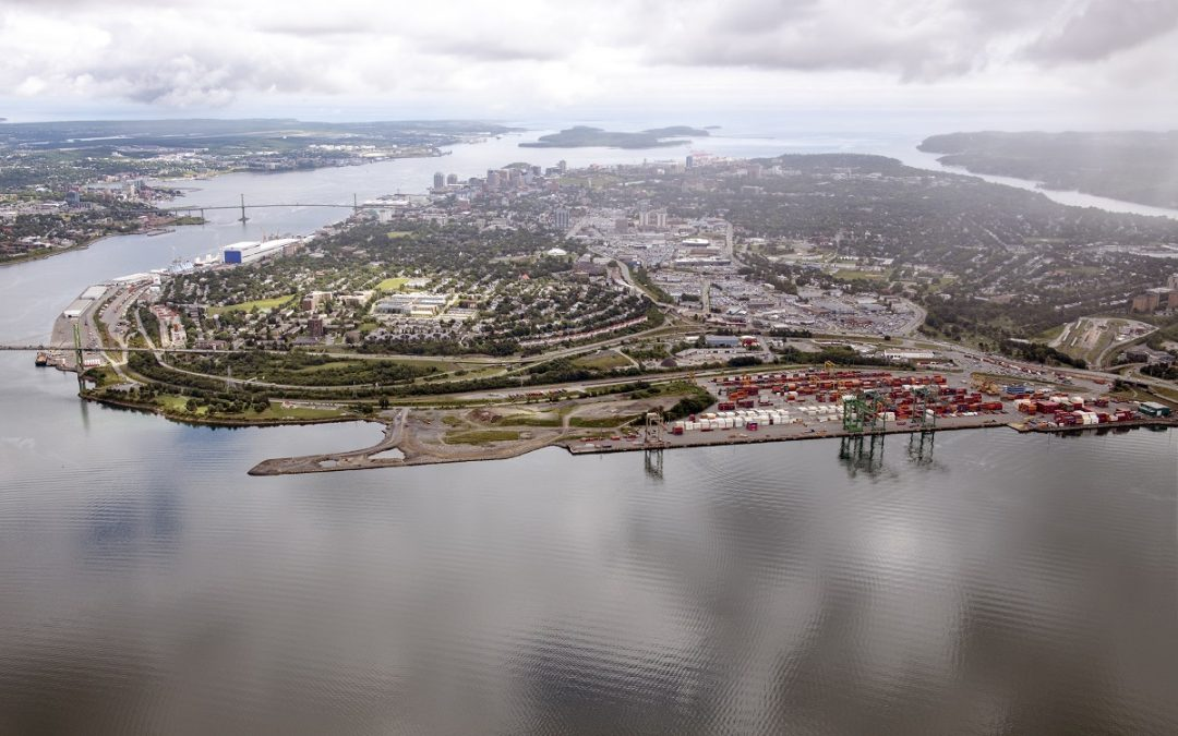 Federal government contributes $47.5 million to help reduce container movements through Halifax' downtown area