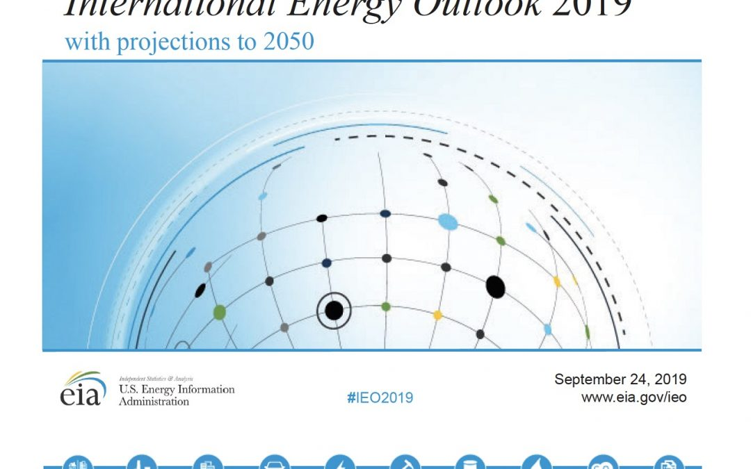 International Energy Outlook 2019 projects nearly 50 per cent increase in world energy usage by 2050, led by growth in Asia