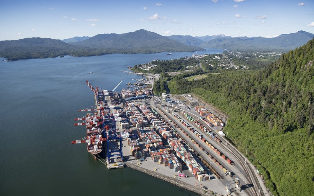 One million TEUs marks Prince Rupert container terminal milestone