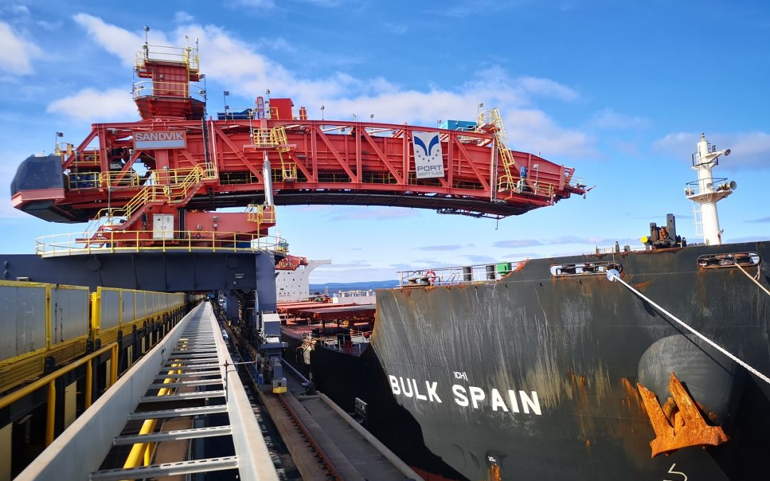 Sept-Îles tonnage records in sight with new dock