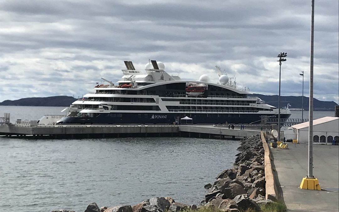 Best-ever performance as cruise destination in 2019 for Port of Sept-Îles