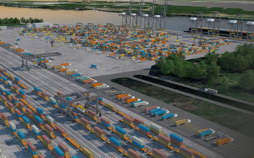 Port of Montreal: Many key milestones reached for Contrecoeur container terminal project