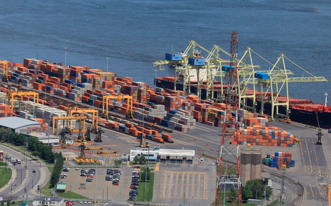 Review of Quebec port terminals