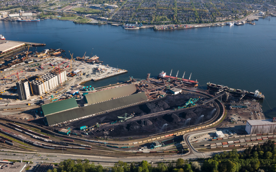 Upgrade of North Vancouver coal terminal  nears completion
