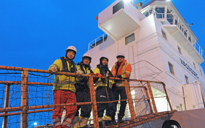 """A lot of """"behind the scene"""" activity aids foreign seafarers stuck on ships in Canadian ports"""