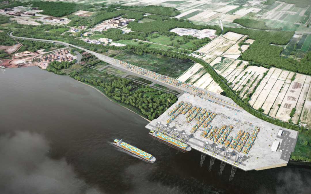 Contrecoeur terminal expansion project enters latest phase